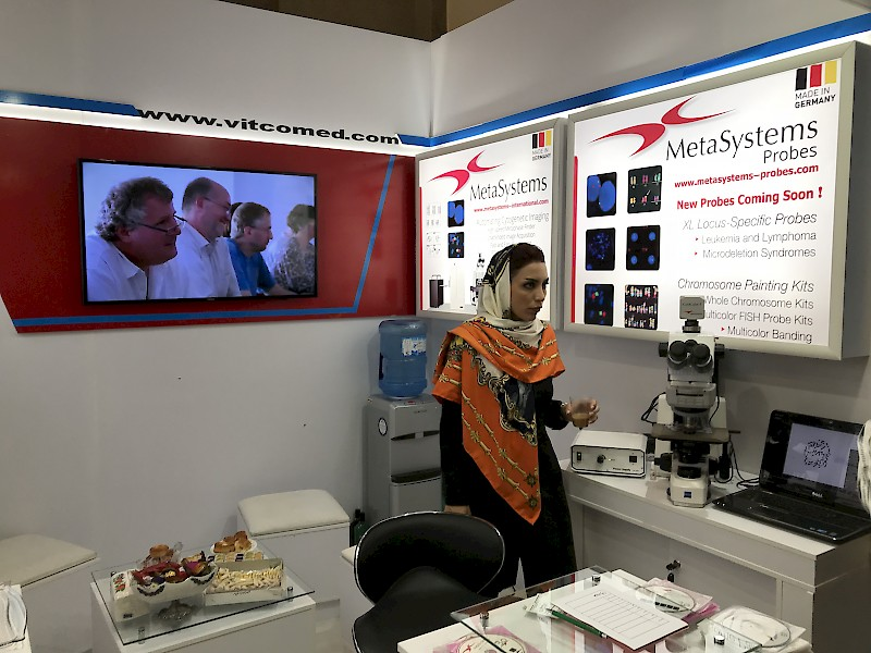 VITCO represents MetaSystems on the 3rd International and 15th Iranian Genetic Congress