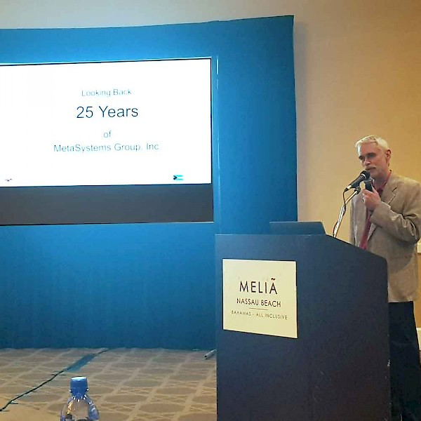 Dr. Ulrich Klingbeil, founder of MGI, took the delegates of DM2018 to a journey through 25 years of company history.